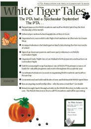 2012-october-pta-newsletter-welch-elementary-  Page Pta Newsletter Template on