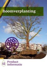 Verplanttechnieken - Nationale Bomenbank