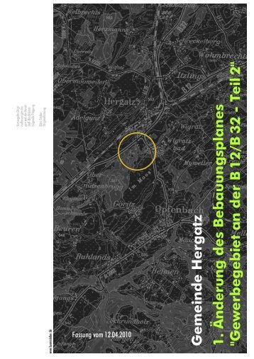 2010-04-12 1 BPä GE B12-B32 Teil 2 TEXT - Gemeinde Hergatz
