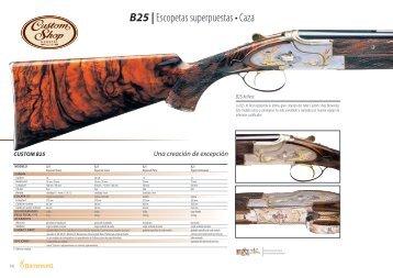 Escopetas superpuestas • Caza B25 |