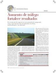 Aumento de tráfego fortalece resultados - Transporte Moderno