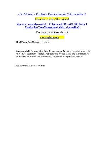 HCR 220 Week 6 CheckPoint Applying Level II HCPCS Modifiers