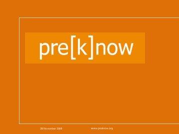 Pre-k momentum (PDF) - Center for Public Education