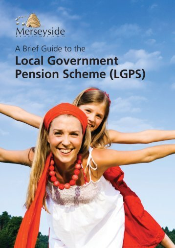 FRONT PAGE - THE LOCAL GOVERNMENT PENSION SCHEME