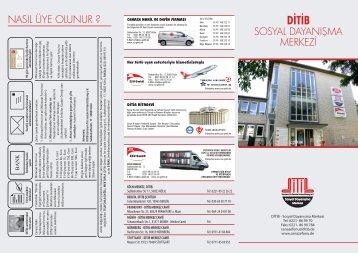 ditib sosyal dayanışma merkezi - Cenaze Fonu