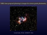 NIRI: from proposal planning to images for science grade photometry