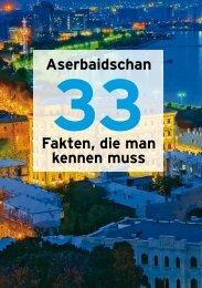 Aserbaidschan Fakten, die man kennen muss