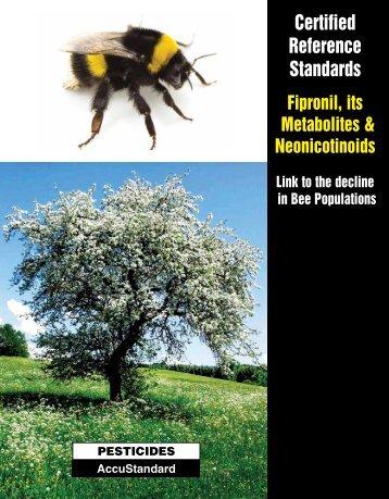 Fipronils and Neonicotinoids - AccuStandard