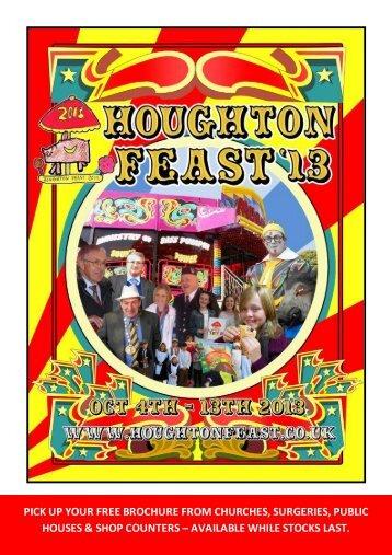 programme - Houghton-le-Spring