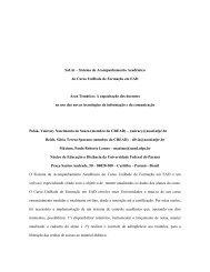 SaUni – Sistema de Acompanhamento Acadêmico - Reposital - UNAM
