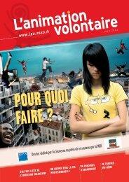 le dossier sur le volontariat - La Jeunesse au Plein Air