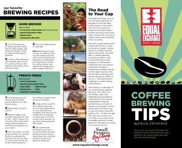 Coffee Brewing Tips - Equal Exchange