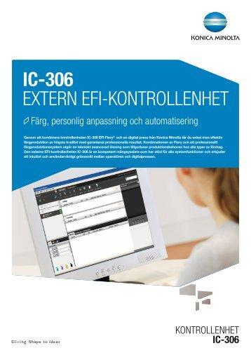 IC-306 extern eFI-Kontrollenhet - Konica Minolta