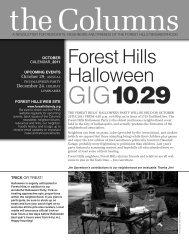 2011 October - Forest Hills Neighborhood Association