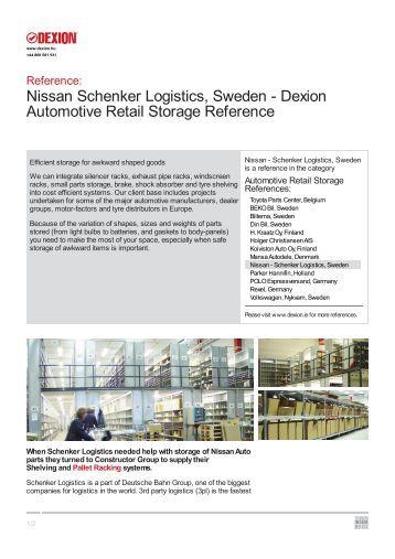 Nissan - Schenker Logistics, Sweden