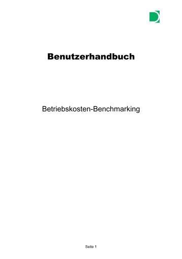 Benutzerhandbuch - Bekobench.de