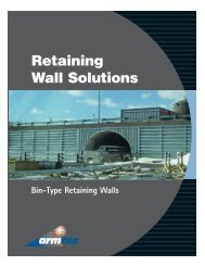 Retaining Wall Solutions - Armtec