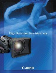 The Latest HDTV Lens Series - Visual Impact France