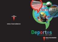 Deportes 2011-12 - Ayuntamiento Rivas Vaciamadrid