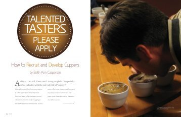 Talented Tasters, Please Apply - Equal Exchange