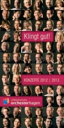 Konzertflyer als Download [PDF] - Theater Hagen