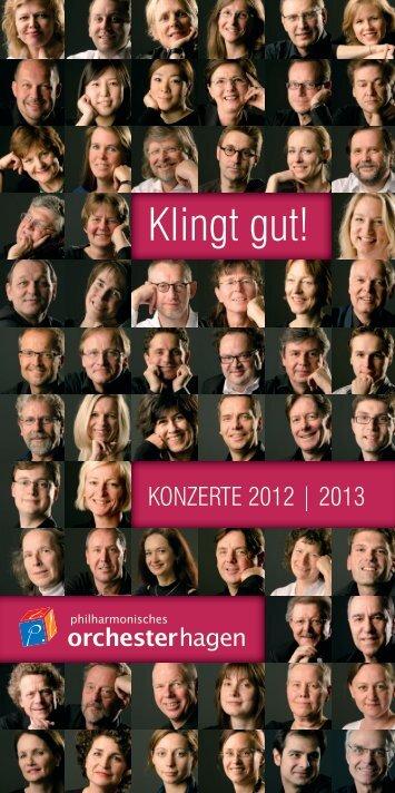 Konzertflyer als Download [PDF] - Theater Hagen