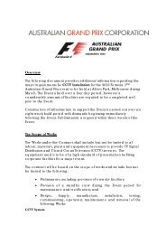 Overview The following document provides additional information ...