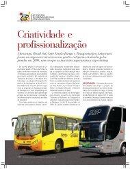 Criatividade e profissionalização - Transporte Moderno