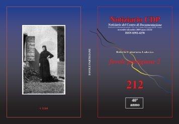 212 - Centro documentazione Pistoia