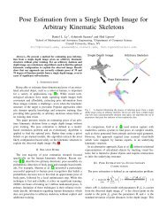 Pose Estimation from a Single Depth Image for Arbitrary Kinematic ...