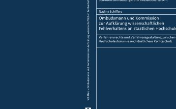 Ombudsmann und Kommission zur Aufklärung ... - Soldan.de