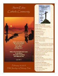 Feb 10 - St. Edna Catholic Church