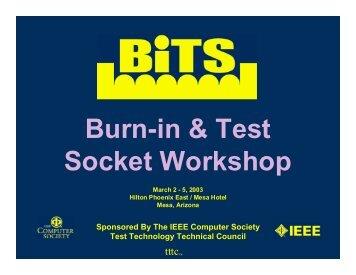 Burn-in trends - BiTS Workshop