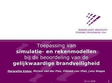 Toepassing van simulatie - ibpsa-nvl