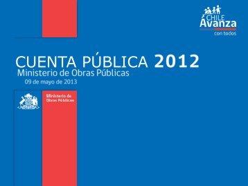 CUENTA PÚBLICA - Cuentas Publicas Participativas - Ministerio de ...