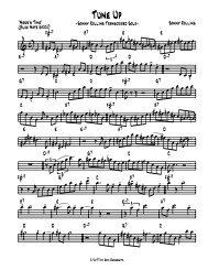 Tune Up - Sonny Rollins - Jazz Sax