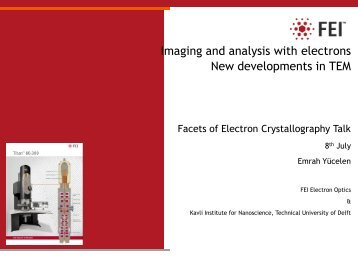 FEI Powerpoint Template - Open Access Crystallography