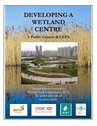 developing a wetland centre, English - Wetland Link International