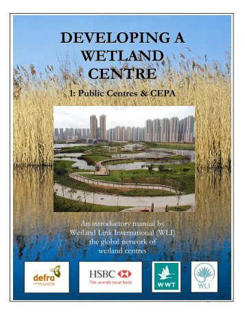 developing a wetland centre, English - Wetland Link International