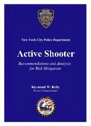 NYPD – Active Shooter - NYC.gov