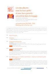 JS Lyon - 181013 -programme - Quand les livres relient