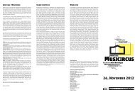 Programm MUSICIRCUS [PDF-Datei - 465 KB] - Theater Heidelberg