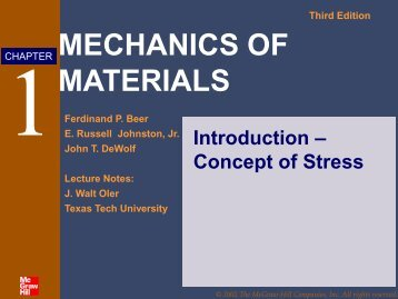 MECHANICS OF MATERIALS - Insaat.anadolu.edu.tr
