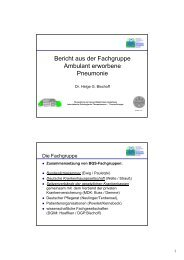 Antimikrobielle Therapie