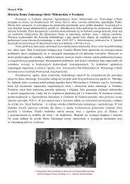 Ochronka - Parafia pw. św. Mikołaja w Bydgoszczy