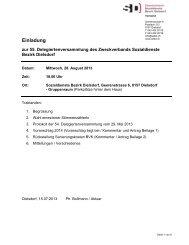 Einladung - Zweckverband Sozialdienste Bezirk Dielsdorf