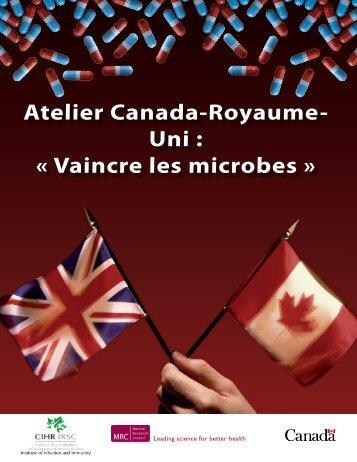 Vaincre les microbes - Instituts de recherche en santé du Canada