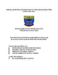 smk iskandar shah - Program Persediaan Universiti SMK Seri ...