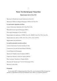 Pacte Territorial pour l'insertion - Alternatives Economiques