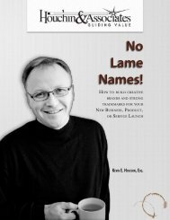 No Lame Names! - The Business of Creativity